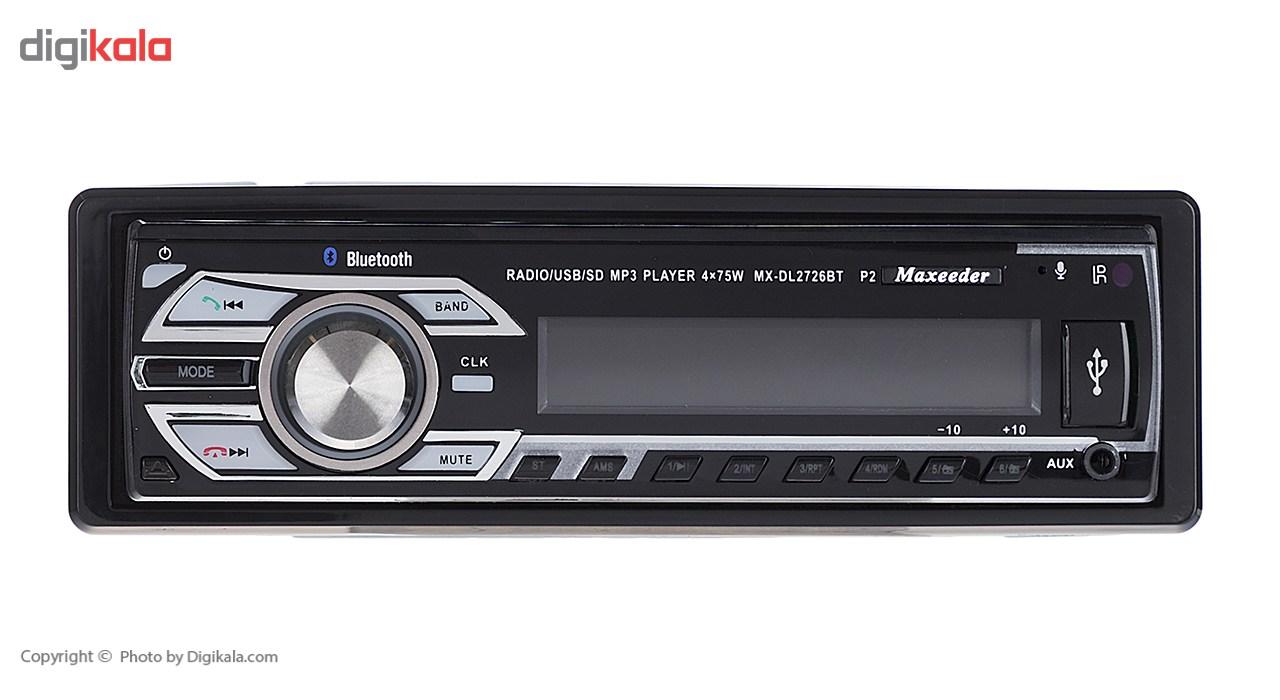 پخش خودرو مکسیدر مدل MX-DL2726BT