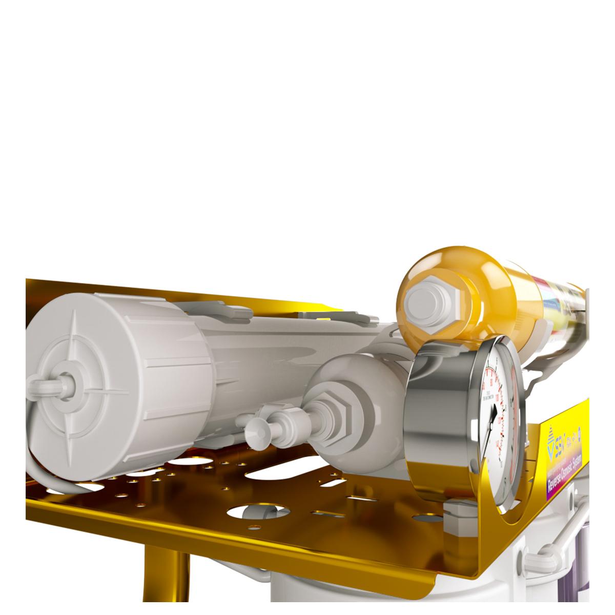 دستگاه تصفیه کننده آب اس اس وی مدل Maxgold X600 به همراه فیلتر مجموعه 3 عددی و شارژ یدک مجموعه 2 عددی