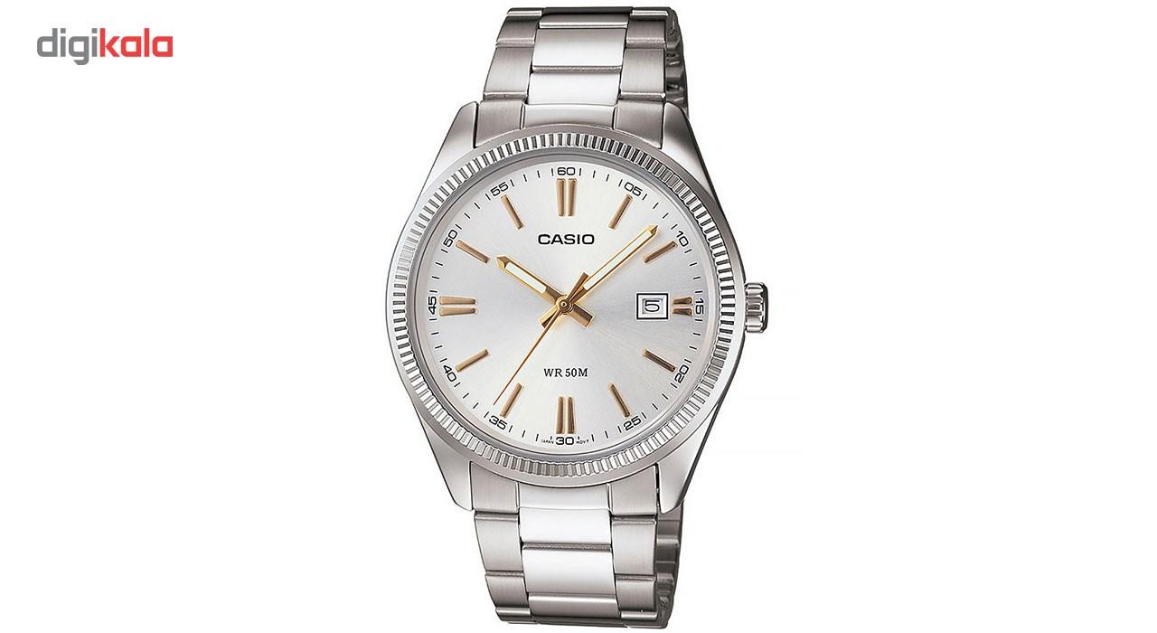 خرید ساعت مچی عقربه ای مردانه کاسیو مدل MTP-1302D-7A2VDF