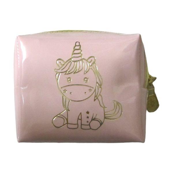 کیف لوازم آرایش زنانه مدل یونیکورن کد W33