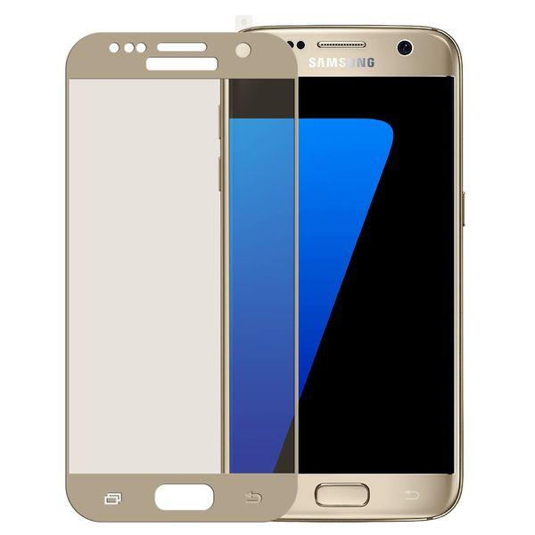 محافظ صفحه نمایش موکول مدل Full Cover 3D Curve مناسب برای گوشی موبایل سامسونگ S7 Flat