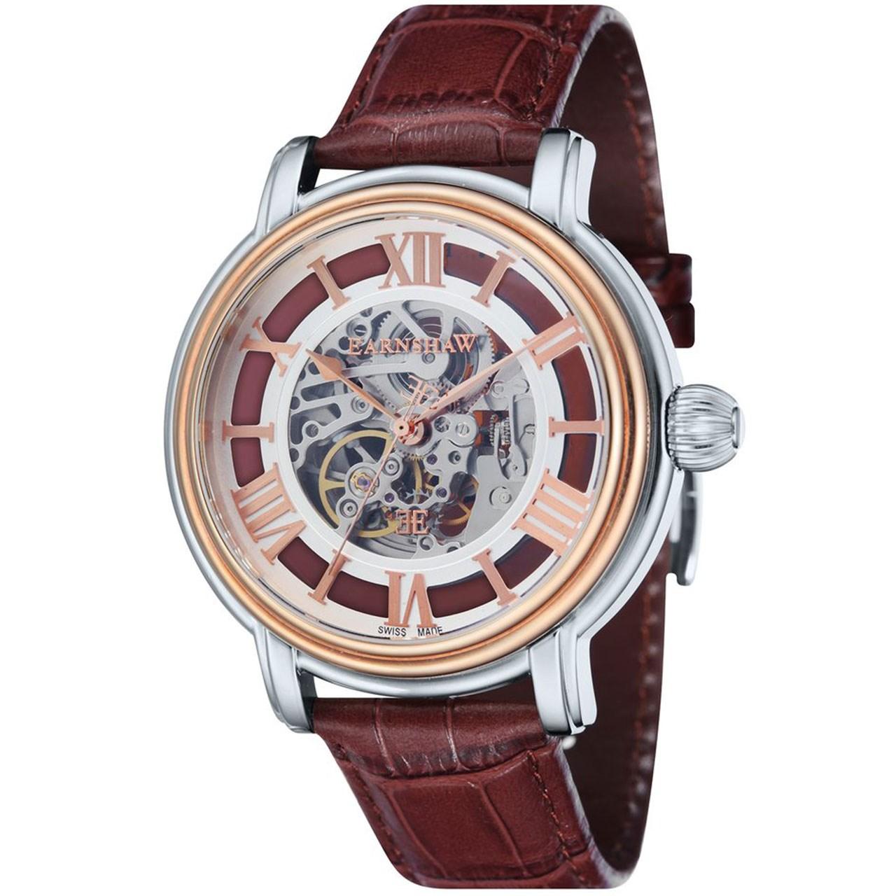 ساعت مچی عقربه ای مردانه ارنشا مدل ES-0032-03 46