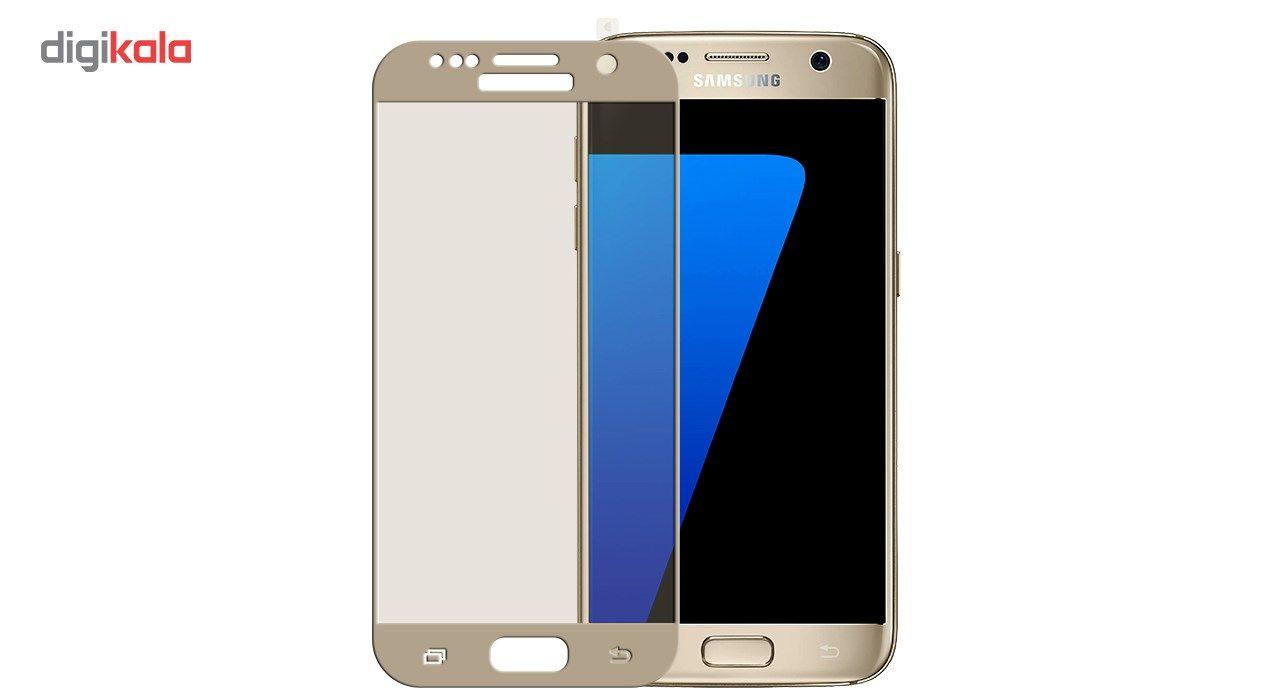 محافظ صفحه نمایش موکول مدل Full Cover 3D Curve مناسب برای گوشی موبایل سامسونگ S7 Flat main 1 1