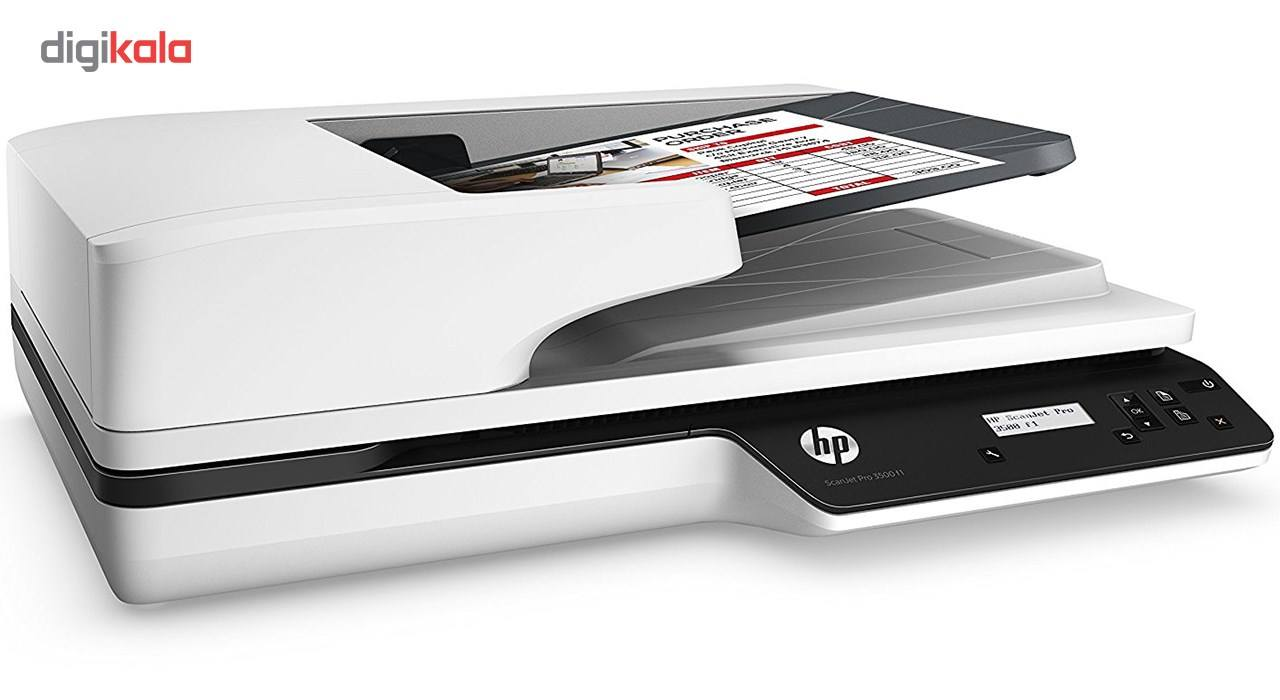 اسکنر تخت اچ پی مدل ScanJet Pro 3500 f1 main 1 3