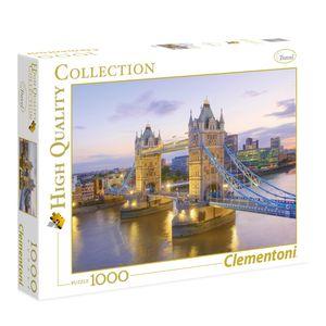 پازل 1000 تکه کلمنتونی مدل Tower Bridge