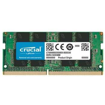 تصویر رم لپ تاپ کروشیال مدل DDR4 2400MHz ظرفیت 8 گیگابایت Crucial DDR4 2400MHz SODIMM RAM - 8GB