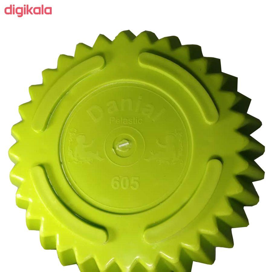 گلدان دانیال پلاستیک کد 1012 مجموعه 8 عددی main 1 9