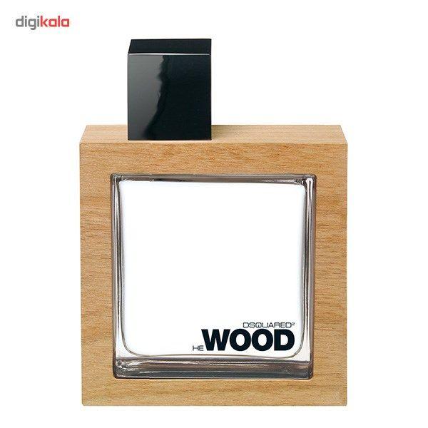 ادو تویلت مردانه دیسکوارد مدل He Wood حجم 100 میلی لیتر  Dsquared He Wood Eau De Toilette For Men