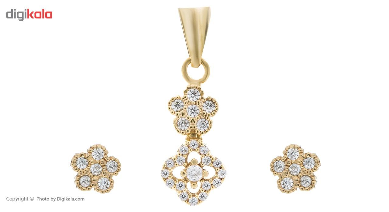 ست زیورآلات طلا زنانه