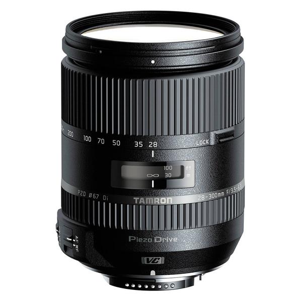 لنز تامرون مدل 28-300 F/3.5-6.3 DI VC PZD مناسب برای دوربینهای نیکون