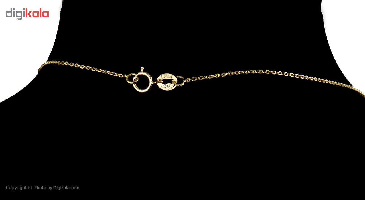 گردنبند طلا 18 عیار ماهک مدل MM0390 - مایا ماهک -  - 2