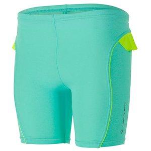 لباس شنای دخترانه آکوا اسفیر مدل Tulip Bright Green Yellow ضد UV
