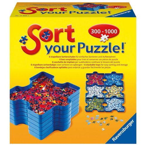 جعبه قطعات پازل راونزبرگر مدل Sort Your Puzzle