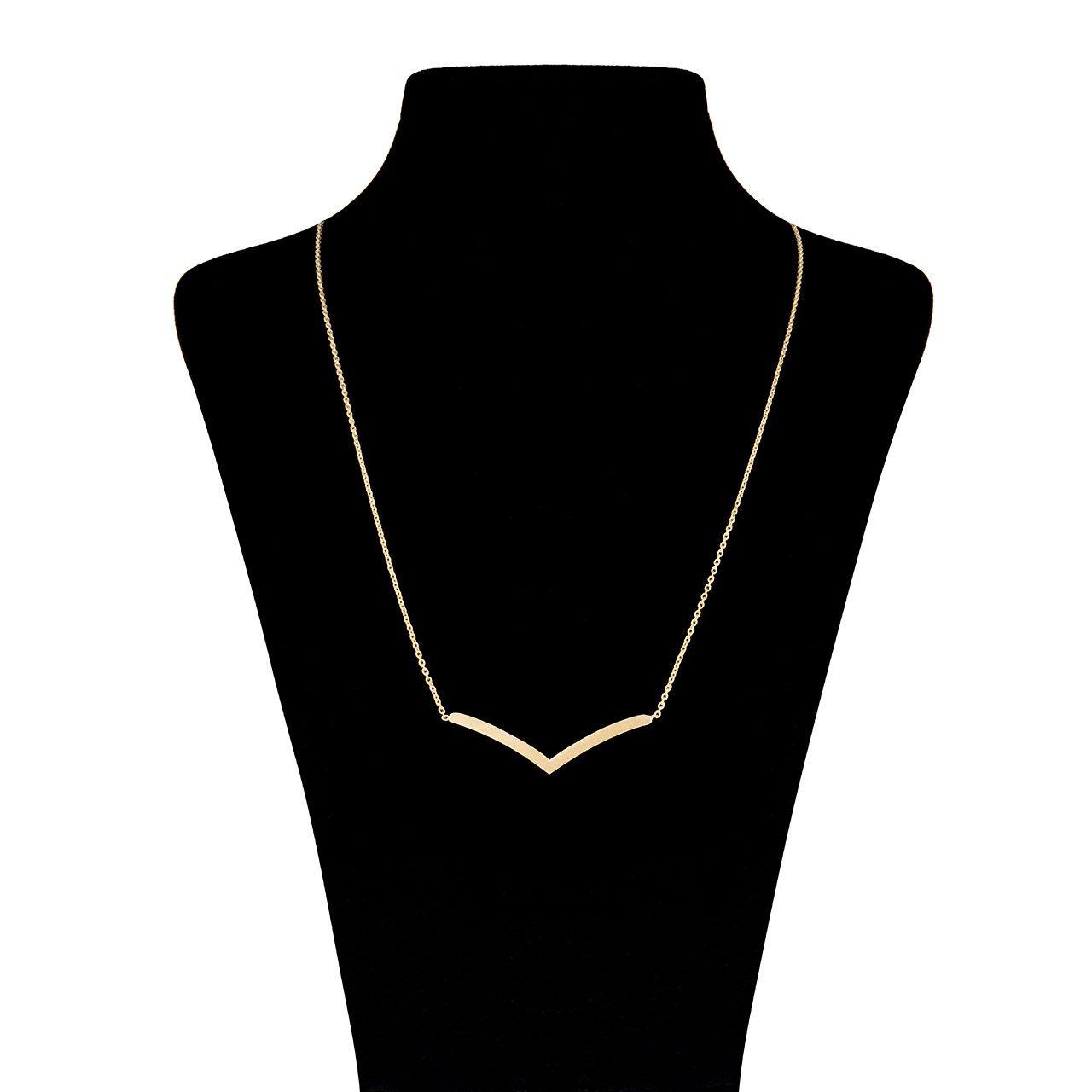 گردنبند طلا 18 عیار زنانه ماهک مدل MM0404 -  - 2
