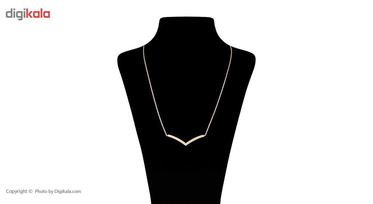 گردنبند طلا 18 عیار زنانه ماهک مدل MM0404 main 1 1