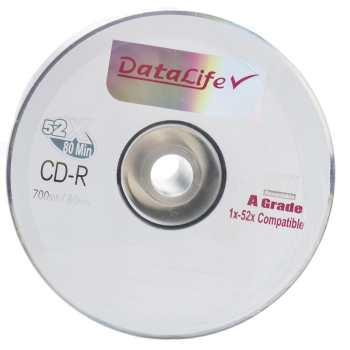 سی دی خام دیتالایف پک 50 عددی