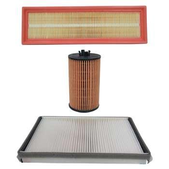فیلتر هوا خودرو سرکان مدل SF1296 به همراه فیلتر روغن و فیلتر کابین