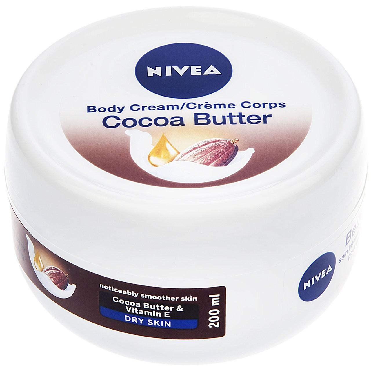 قیمت کرم بدن نیوآ مدل Cocoa Butter حجم 200 میلیلیتر