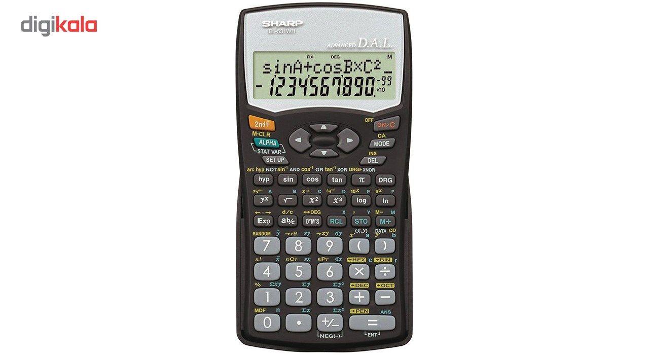 ماشین حساب مهندسی شارپ مدل EL-531WH main 1 1