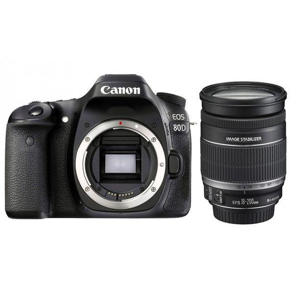 دوربین دیجیتال کانن مدل Eos 80D به همراه لنز 200-18 میلی متر