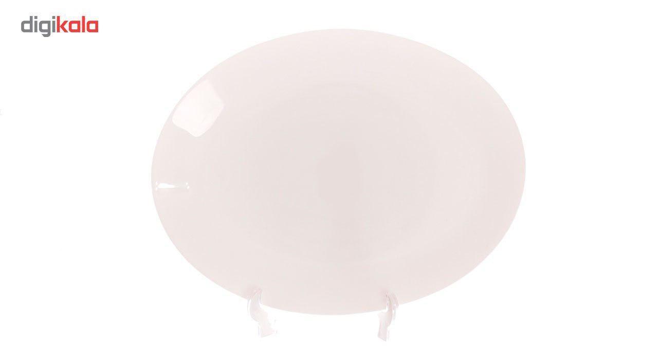 سرویس غذاخوری 26 پارچه فرانسوا مدل Simple White
