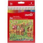 مداد رنگی 36 رنگ اونر thumb