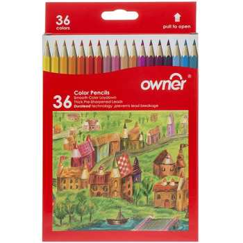 مداد رنگی 36 رنگ اونر