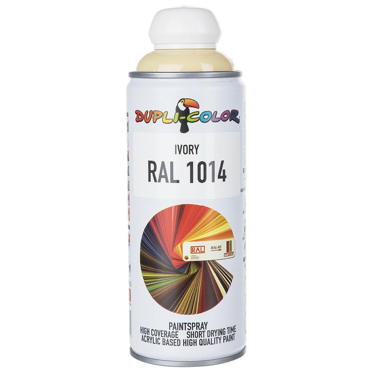 اسپری رنگ استخونی دوپلی کالر مدل RAL 1014 حجم 400 میلی لیتر