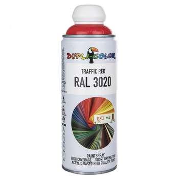 اسپری رنگ قرمز دوپلی کالر مدل RAL 3020 حجم 400 میلی لیتر