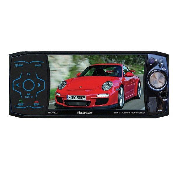 پخش کننده خودرو مکسیدر MX-5202 LED