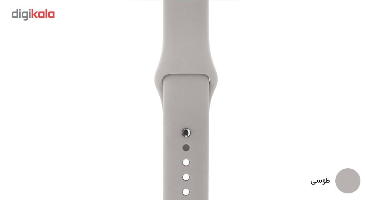 بند لاستیکی مدل Sport Band مناسب برای اپل واچ 38 میلی متری main 1 5