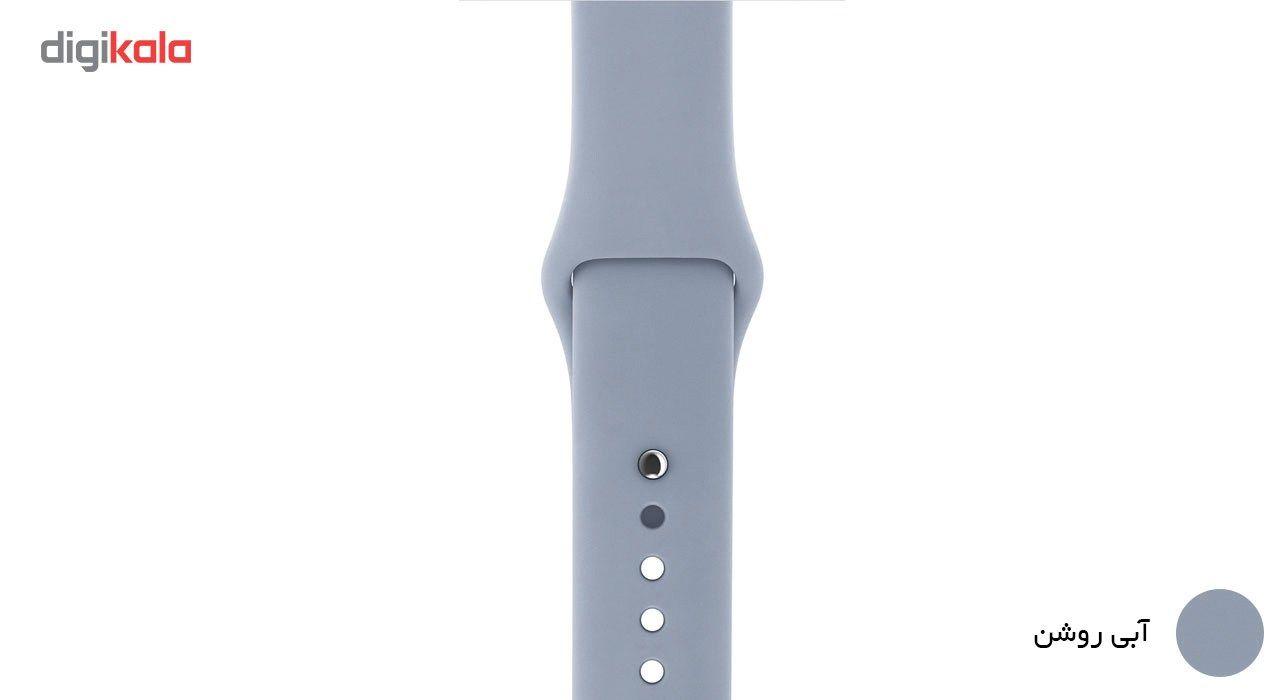 بند لاستیکی مدل Sport Band مناسب برای اپل واچ 38 میلی متری main 1 8
