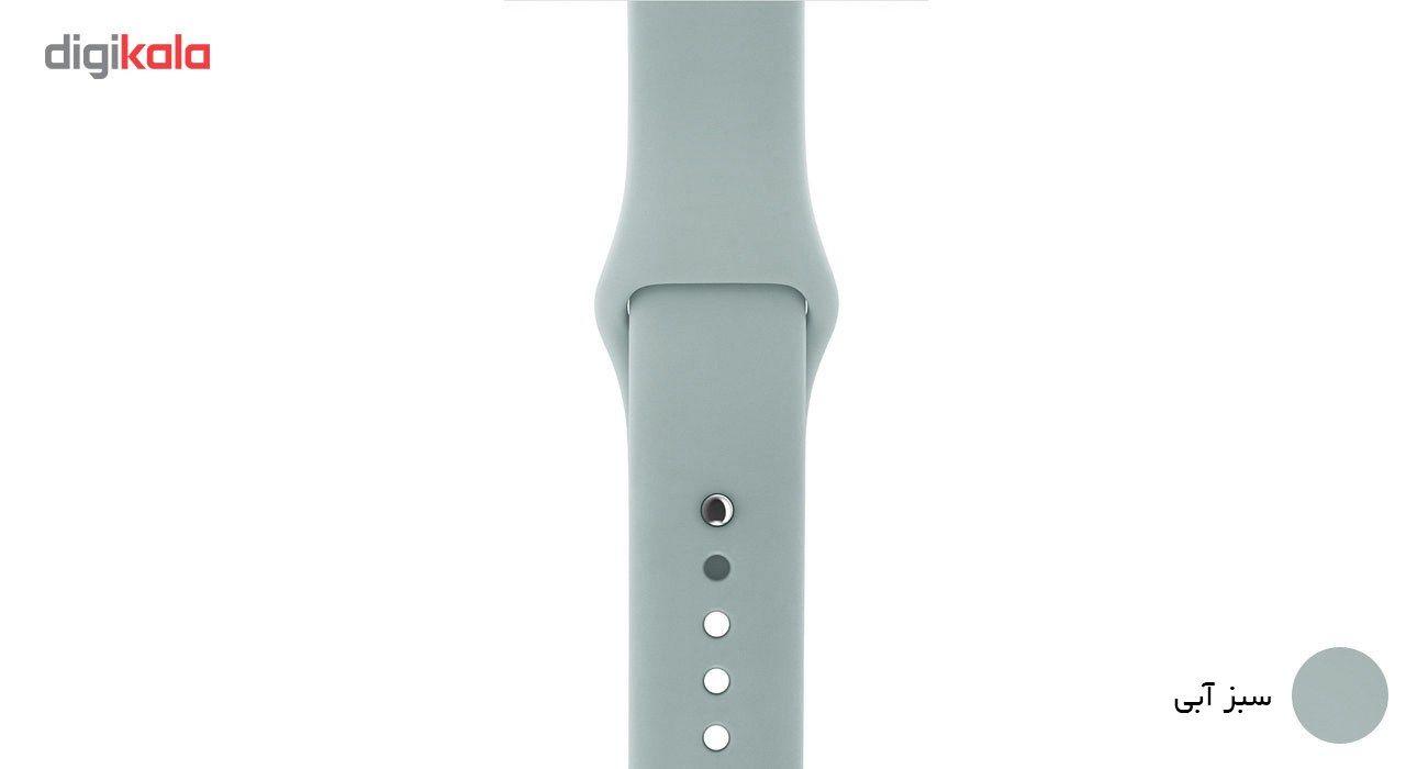 بند لاستیکی مدل Sport Band مناسب برای اپل واچ 38 میلی متری main 1 11