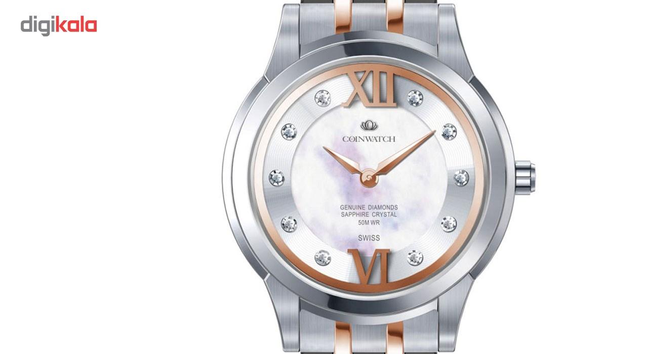 ساعت مچی عقربه ای زنانه کوین واچ مدل C141RWH
