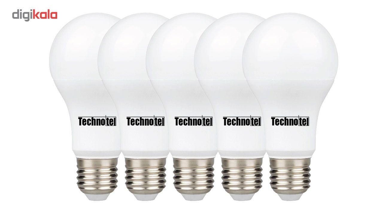 لامپ ال ای دی 15 وات تکنوتل مدل 315 پایه E27 بسته 5 عددی main 1 1