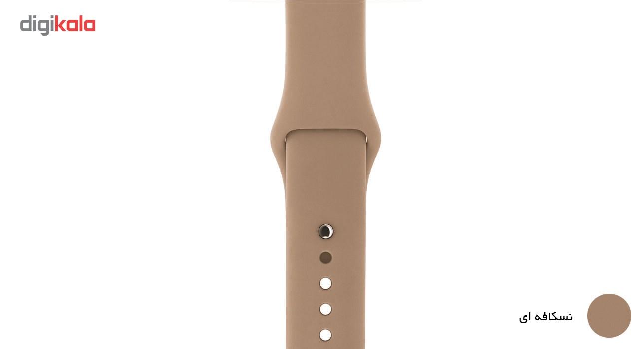 بند لاستیکی مدل Sport Band مناسب برای اپل واچ 38 میلی متری main 1 20