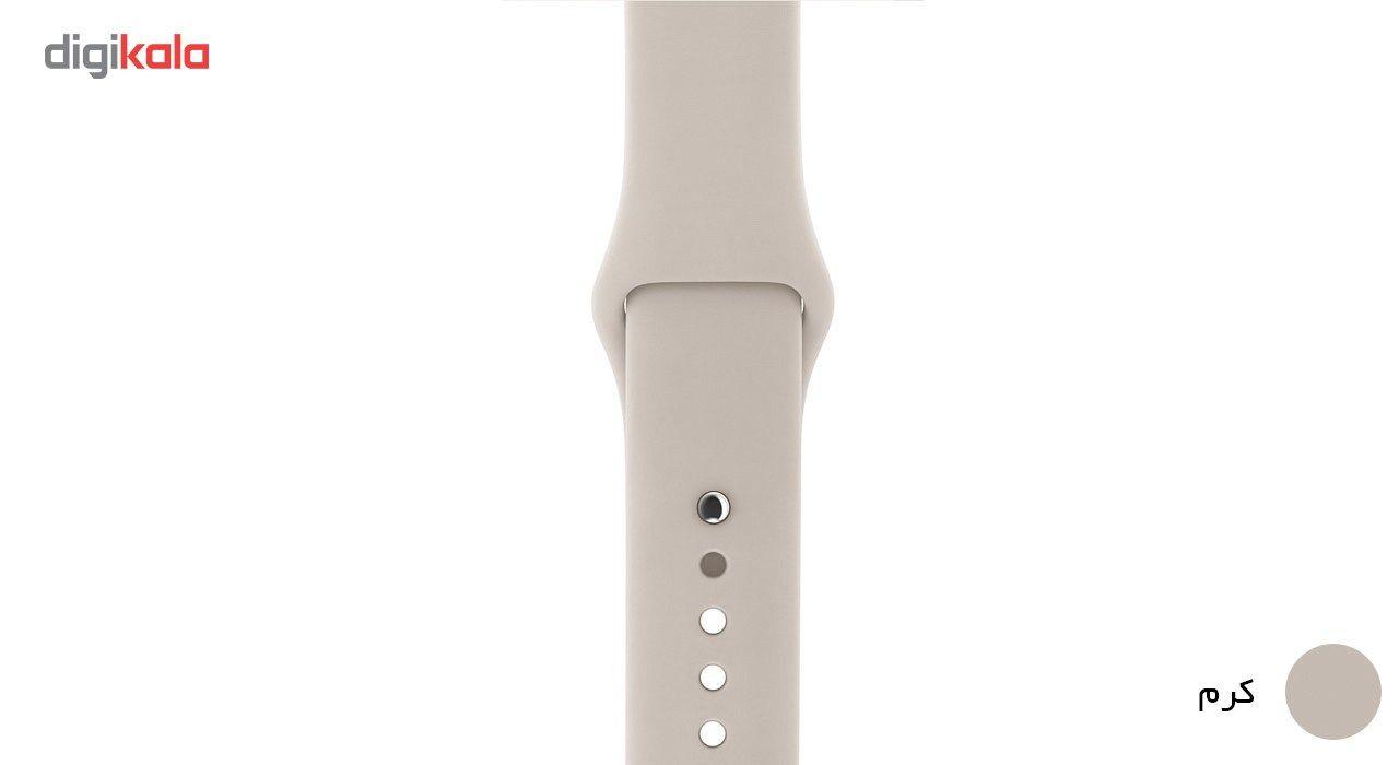 بند لاستیکی مدل Sport Band مناسب برای اپل واچ 38 میلی متری main 1 23