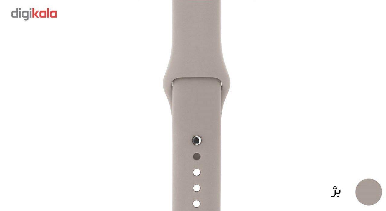 بند لاستیکی مدل Sport Band مناسب برای اپل واچ 38 میلی متری main 1 30