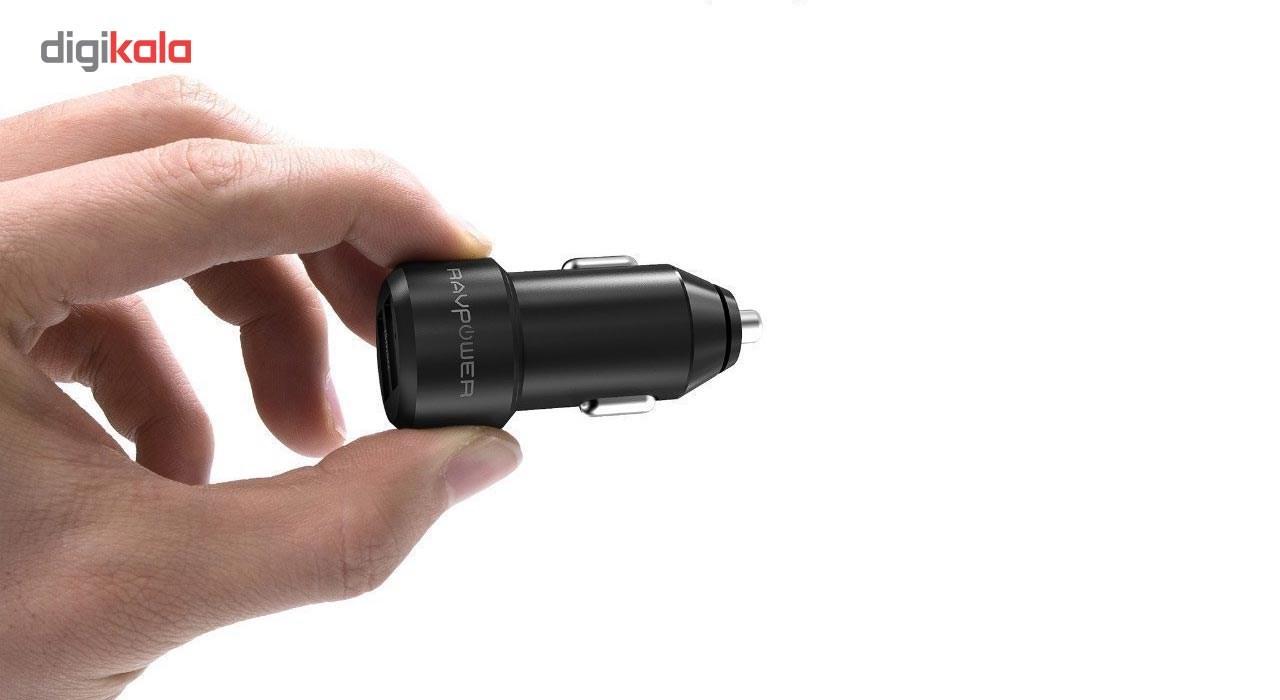 شارژر فندکی راو پاور مدل RP-VC006 main 1 9