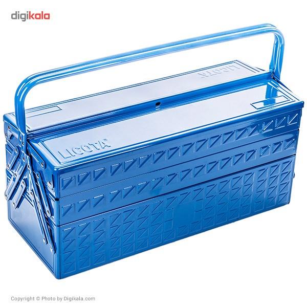 مجموعه 57 عددی جعبه ابزار لیکوتا مدل AHB-533K01 main 1 2