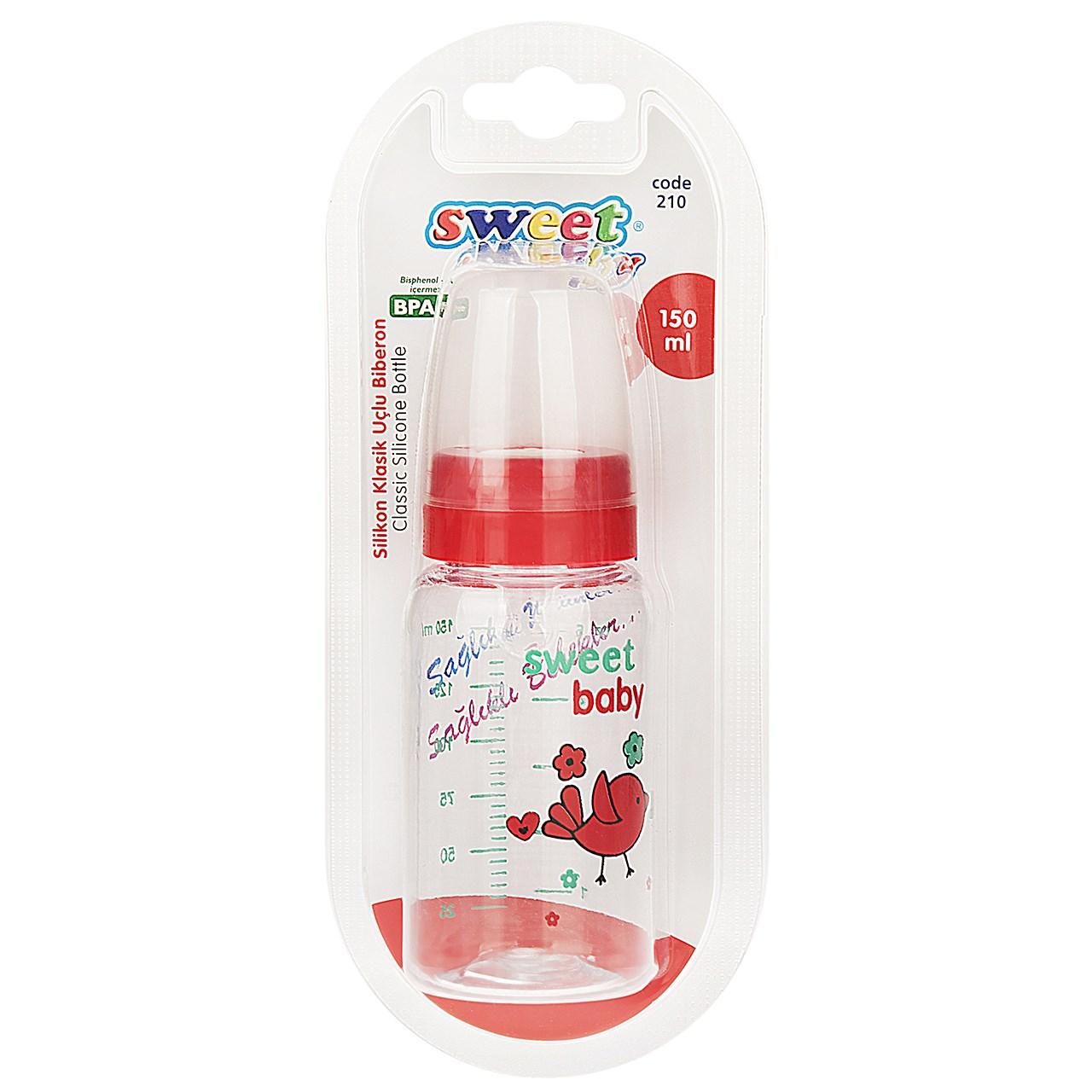 شیشه شیر سوییت بیبی مدل 210Bird ظرفیت 150 میلی لیتر