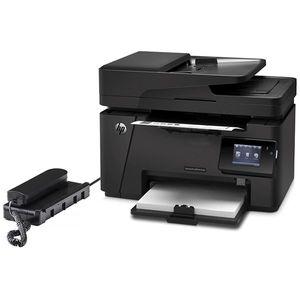 پرینتر چندکاره لیزری اچ پی مدل LaserJet Pro MFP M127fw همراه با گوشی تلفن