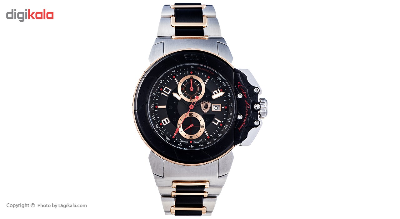 خرید ساعت مچی عقربه ای مردانه تونینو لامبورگینی مدل TL-Brake-09 | ساعت مچی