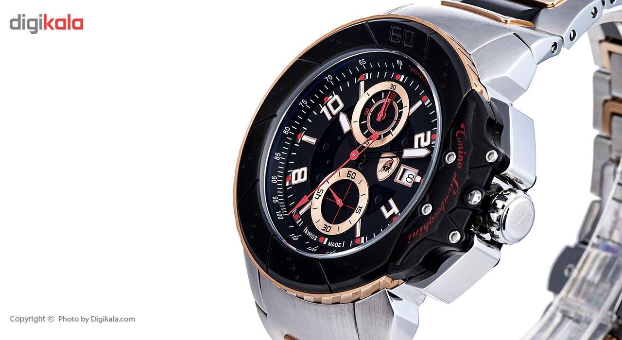 ساعت مچی عقربه ای مردانه تونینو لامبورگینی مدل TL-Brake-09