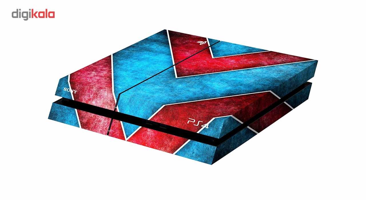 برچسب افقی پلی استیشن 4 ونسونی طرح Art Deco Pattern