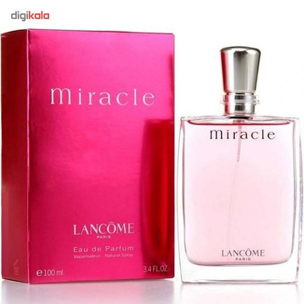 ادو پرفیوم زنانه لانکوم مدل Miracle حجم 100 میلی لیتر