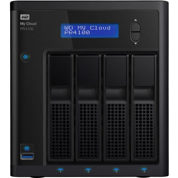 ذخیره ساز تحت شبکه وسترن دیجیتال مدل My Cloud Pro PR4100 ظرفیت 24 ترابایت