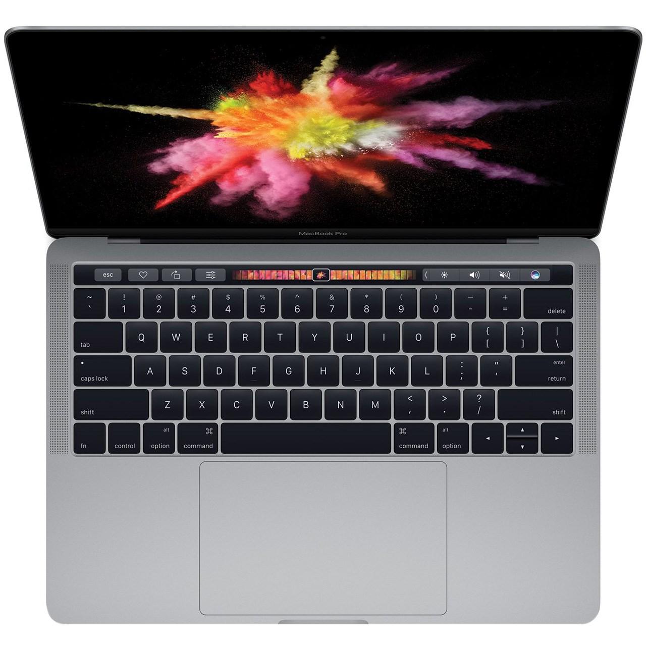 لپ تاپ 13 اینچی اپل مدل MacBook Pro MPXW2 2017 همراه با تاچ بار