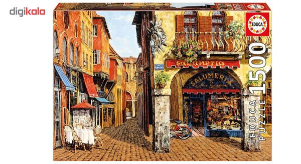 پازل 1500 تکه ادوکا مدل Colors Of Italy Salumeria Viktor Shvaiko