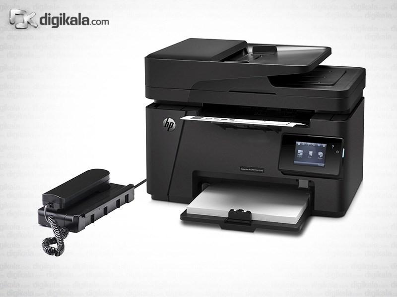 قیمت                      پرینتر چندکاره لیزری اچ پی مدل LaserJet Pro MFP M127fw همراه با گوشی تلفن